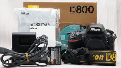 98新带包装尼康 D800