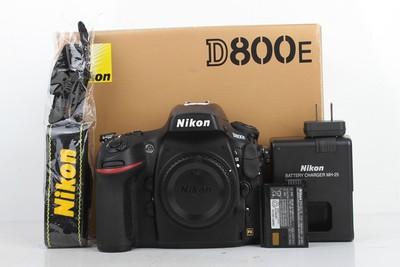 96新二手Nikon尼康 D800E 单机 快门11500多次(B95374)【津】