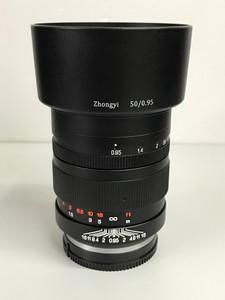 【超大光圈】 中一 SPEEDMASTER 50mm f/0.95(索尼E口)