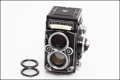 禄莱 Rolleiflex 2.8F 蔡司镜头 双反相机