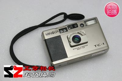 美能达TC-1 Minolta tc1 28mm f3.5 经典旁轴TC1 口袋旁轴胶片