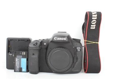 94新二手 Canon佳能 7D 单机 中端单反相机 (B95583)【京】