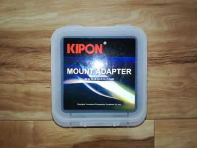 KIPON Contax N-Sony E 康泰时N转接索尼E