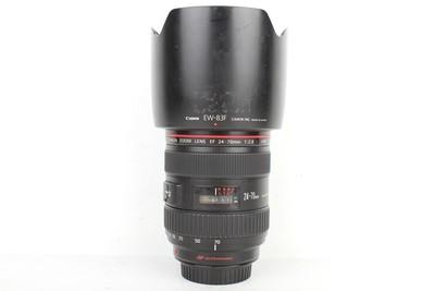94新二手Canon千亿国际娱乐官网首页 24-70/2.8 L USM一代红圈镜头(B95565)亚