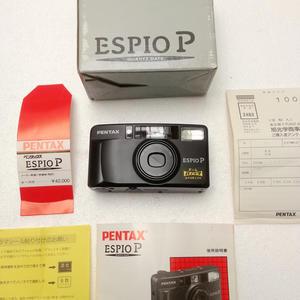 全套 PENTAX/宾得 espio P 135胶片傻瓜机自动对焦胶卷ps相机B门