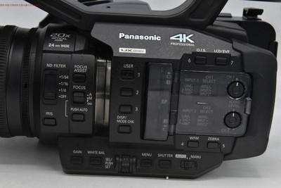 新到98成新 Panasonic/松下 AG-UX180MC 4K 专业摄像机 走时仅50h