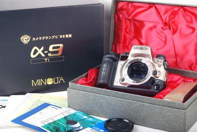 美能达 9 Ti钛版机身 日本99年相机大奖获奖 #jp19475