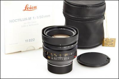徕卡 Leica M 50/1.0 NOCTILUX-M E60 第四代 夜神 带包装