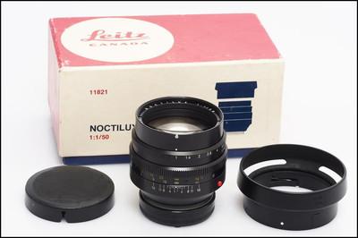 徕卡 Leica M 50/1.0 NOCTILUX E58 第一代 夜神 带包装