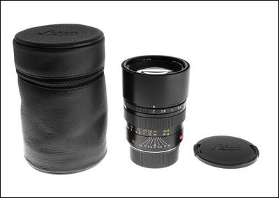 徕卡 Leica M 90/2 E55 PRE-ASPH 后期 方字版 带皮套