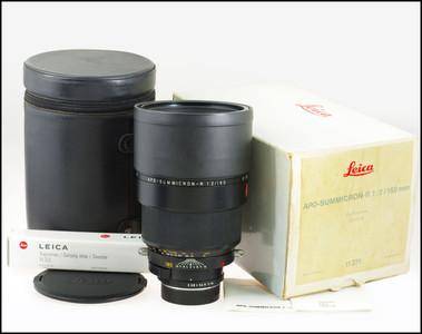 徕卡 Leica R 180/2 APO SUMMICRON-R 带包装