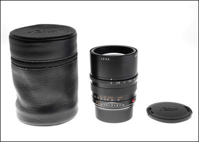 徕卡 Leica M 75/2 APO ASPH 6-BIT 带皮套