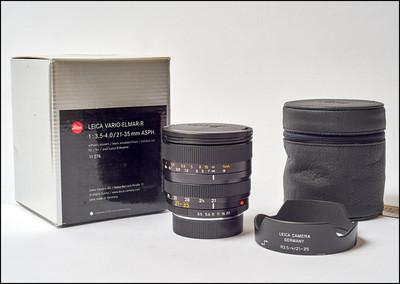97新 徕卡 Leica R 21-35/3.5-4.0 ASPH ROM 带银盒包装