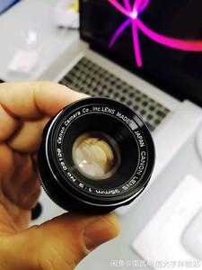 佳能 Canon 7带闪光伞灯泡,带50 1.8 和L39 LTM 35 F2