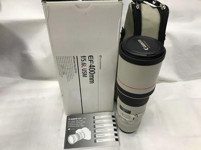 佳能EF 400mm f/5.6L USM镜头400 f5.6 打鸟长焦包装齐全