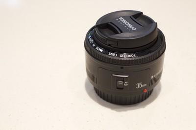 永诺 35mm f/2佳能口