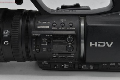 9成多新 Sony/索尼 HVR-Z5C 机器用时非常少 可交换 编号9175