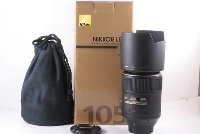 伟德亚洲官网_99/尼康 AF-S 105/2.8G VR, 微距镜 日本产 (全套包装 )
