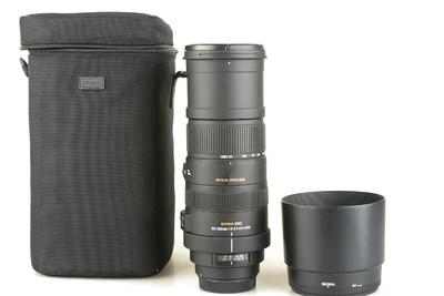 95新 适马 APO 150-500mm f/5-6.3 DG OS HSM