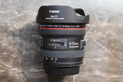 佳能 EF 8-15mm f/4L USM 鱼眼