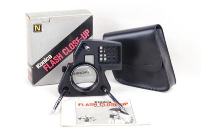 柯尼卡FLASH close-up近摄套装带包装和皮套#jp18915