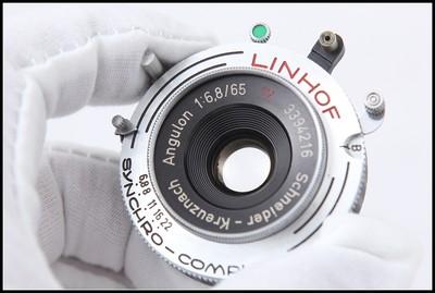 林选 施耐德Schneider 65/6.8 6x9座机镜头