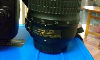 尼康D40原配的套头NIKON AF-S NIKKOR DX 8-55mm 3.5-5.6 ED G ‖