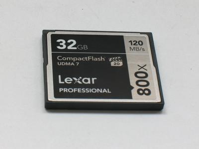 成色极好 原装正品 雷克沙 32G 800X CF卡 高速卡