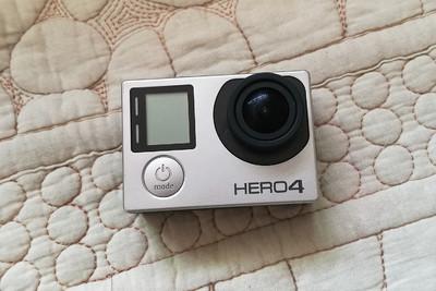 GoPro Hero4  配件齐