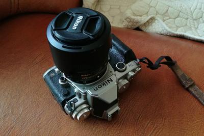 尼康 Df相机银色