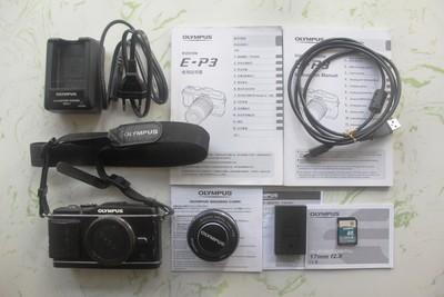 奥林巴斯 E-P3+17/f2.8定焦镜头