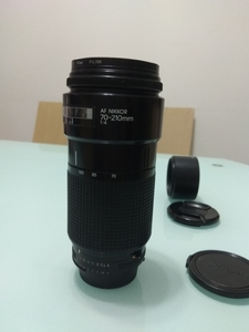 尼康AF 70-210 F4恒定镜头小小黑
