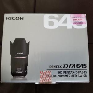 宾得 HD Pentax D FA 645 Macro 90mm f/2.8 ED AW SR