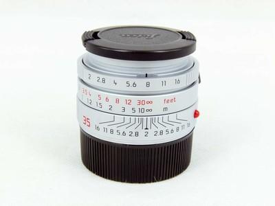 华瑞摄影器材-徕卡Leica Summicron-M 35/2 Asph 银色