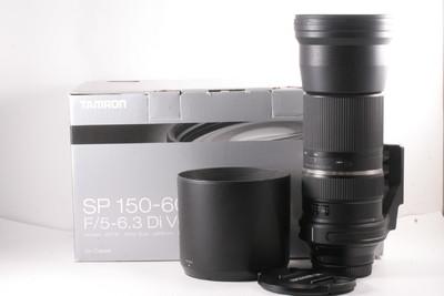 腾龙 SP 150-600mm f/5-6.3 Di VC USD(A011)佳能口