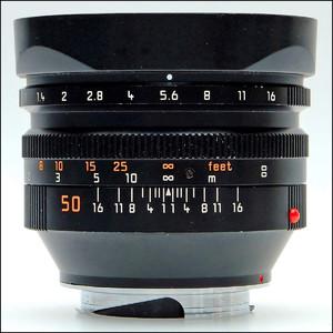 徕卡 Leica M 50/1.0 NOCTILUX-M 原厂6-BIT 第四代 夜神 39号段