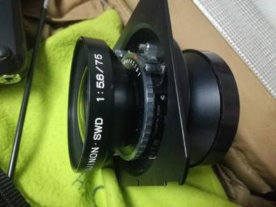 95新 SWD 富士 大幅 75 镜头