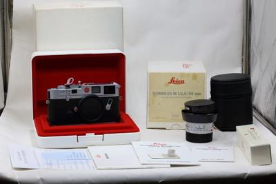 【情迷海印店】【全新】徕卡M6+50/1.4E43羊皮套机(连皮箱,皮袋)