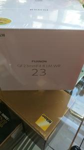富士GF23mmF4 R LM WR