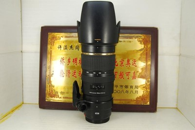 95新 佳能口 腾龙 70-200 F2.8 VC USD A009 单反镜头 防抖恒圈
