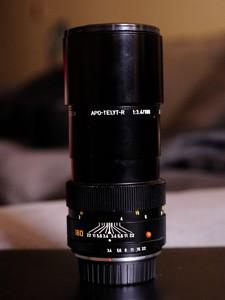 尼康口Leitz Elcan-R 180 mm f/ 3.4