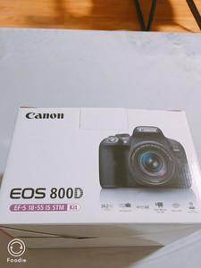 佳能EOS 800D 18-55 套机