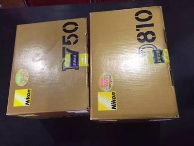 尼康 D750搭配24-70套机转让出售  全新国行带票  0快门