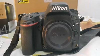 尼康 D610全画幅相机可搭配24-120/24-70/14-24/70-200/28-300