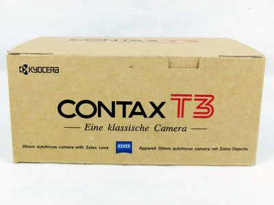华瑞千亿国际娱乐官网首页器材-包装齐全的康泰时Contax T3