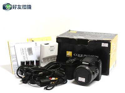尼康/Nikon COOLPIX B500数码机 黑色40x Optical Zoom*如新连盒*