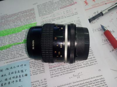 尼康55 2.8 ai微距镜头