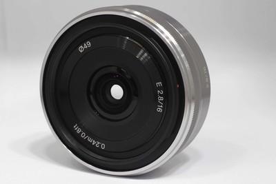 索尼 E 16/2.8(附加 索尼 VCL -E CF1鱼眼镜头)(NO:6999)