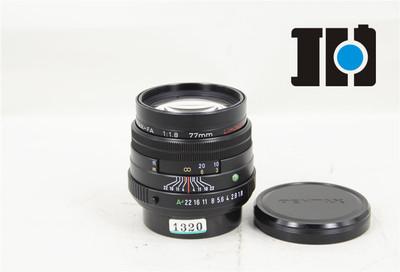 Pentax/宾得 FA 77/1.8Limited 二公主 全幅自动镜头 黑色