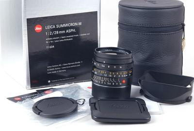 徕卡 Summicron-m 28/2 asph 黑色 11604 包装齐全#jp19486